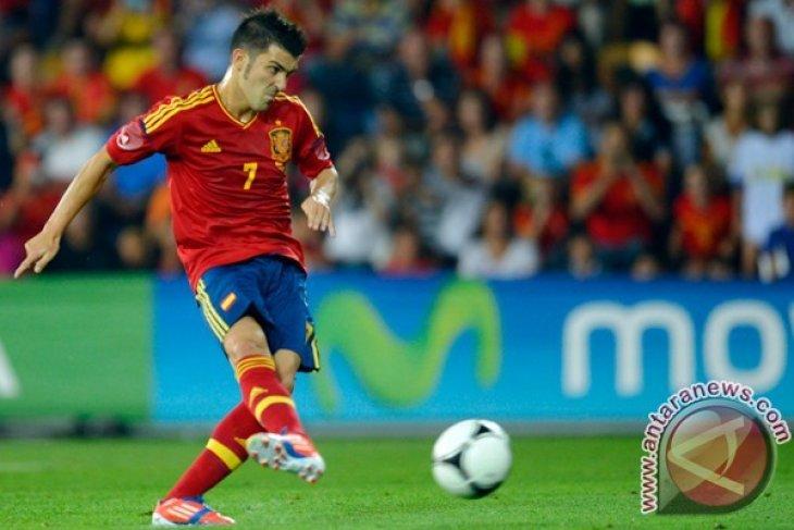 David Villa:  Harry Kane adalah penyerang terbaik saat ini