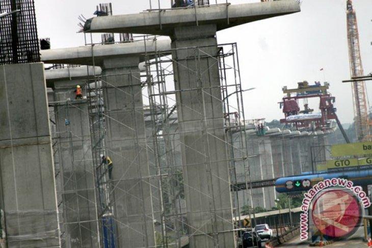 Depo LRT Bekasi pusat pergerakan manusia ke Jakarta