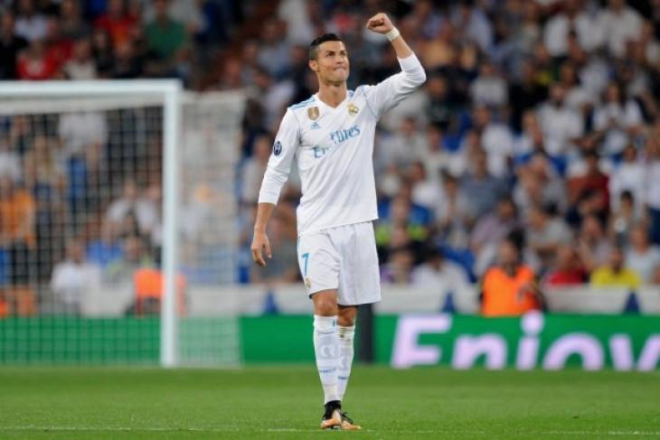 Real Madrid gulung Apoel 3-0, Ronaldo borong dua gol