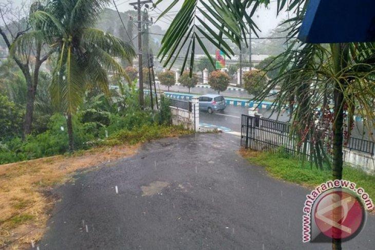 Hujan lebat guyur Bengkulu