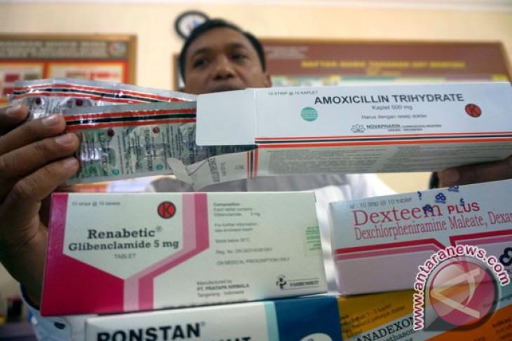 Polisi sita obat keras dari sejumlah apotek
