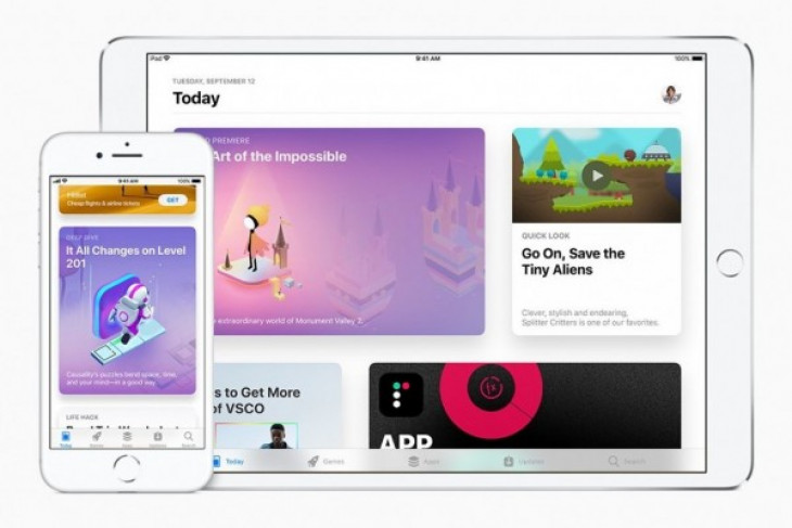 Adopsi iOS 11 capai 59 persen