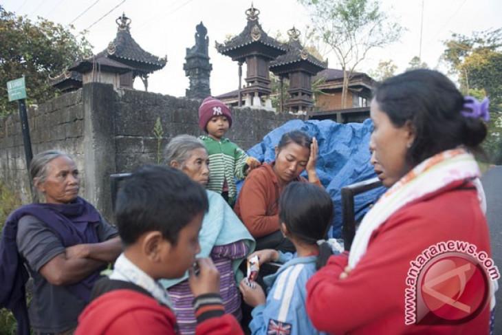 BNPB: 1.259 warga mengungsi siaga Gunung Agung