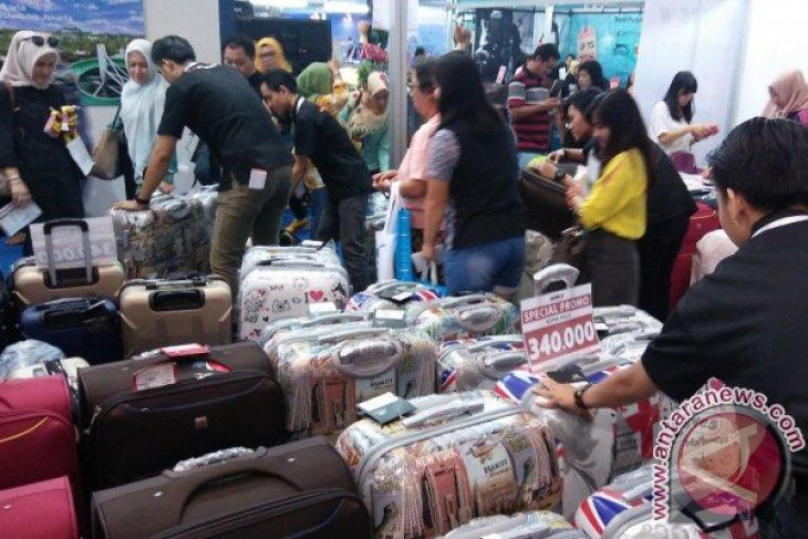 Berburu koper murah Rp300 ribuan di Garuda Indonesia Travel Fair