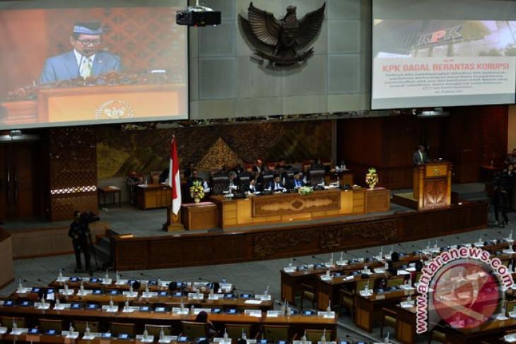 DPR setujui rekomendasi Pansus Angket KPK