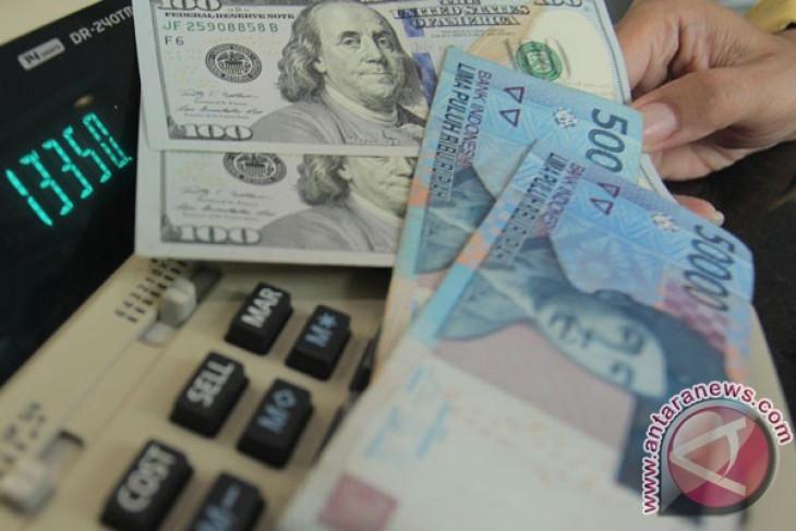 Rupiah Selasa sore menguat tipis ke Rp13.764