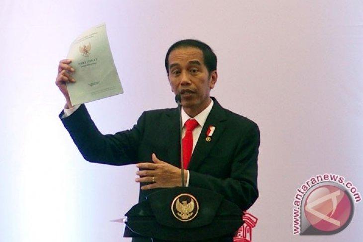 Presiden Jokowi akhiri kunjungan di Jawa Tengah