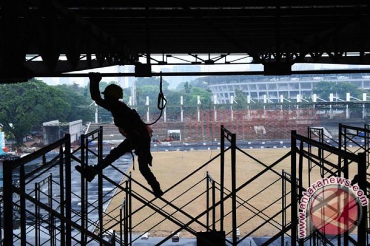 Renovasi Stadion Madya
