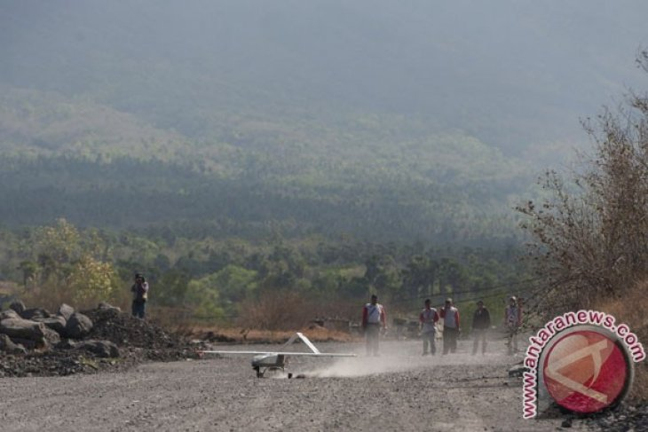 Pemantauan Kawah Gunung Agung Gagal