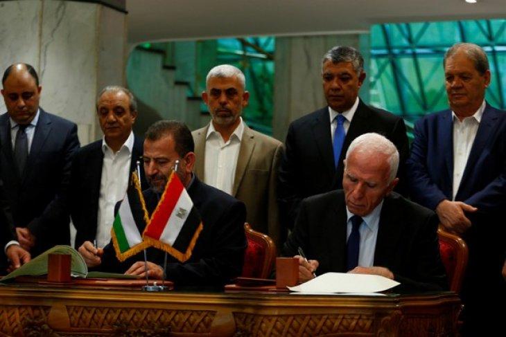 Hamas dan Fatah capai kesepakatan soal rekonsiliasi