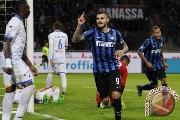 Hattrick Icardi Bawa Inter Menangi Derby Milan