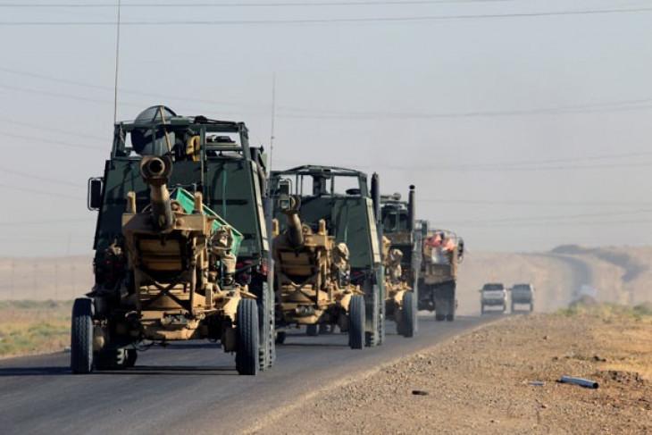 Tiga polisi Irak tewas ditangan kelompok bersenjata