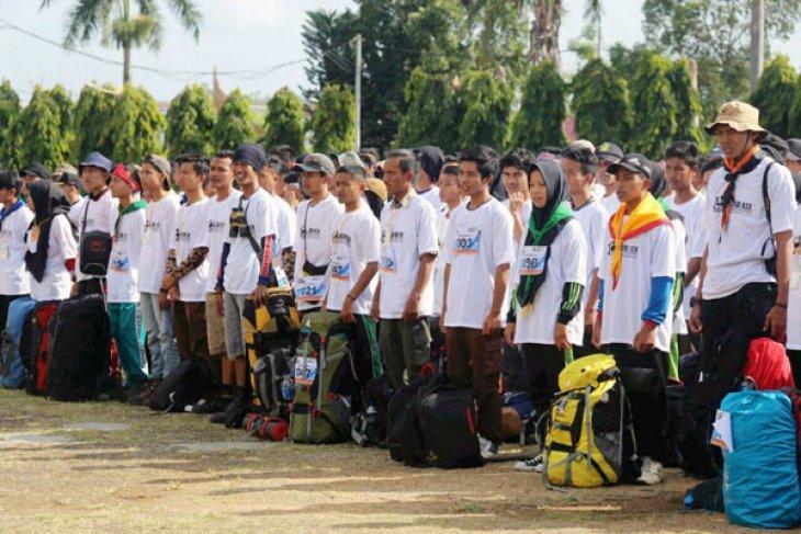 Lampung Menggelar Lomba Lintas Alam Bukit Barisan