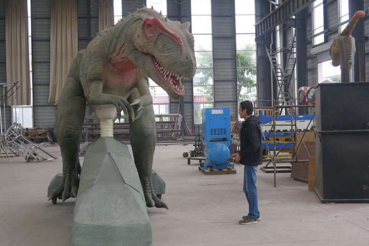 Animator dinosaurus China sasar taman hiburan di Indonesia