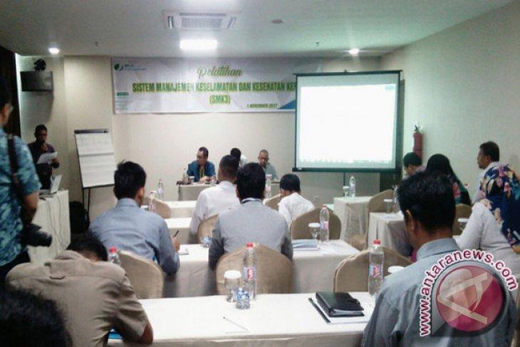 BPJS Ketenagakerjaan Jambi Gelar Pelatihan Keselamatan Kerja