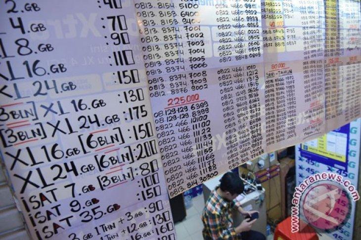 Pelanggan seluler prabayar hasil rekonsiliasi capai 254 juta