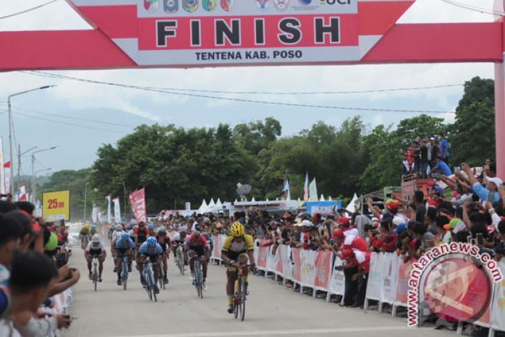 Pebalap Indonesia kuasai dua etape awal TdCC