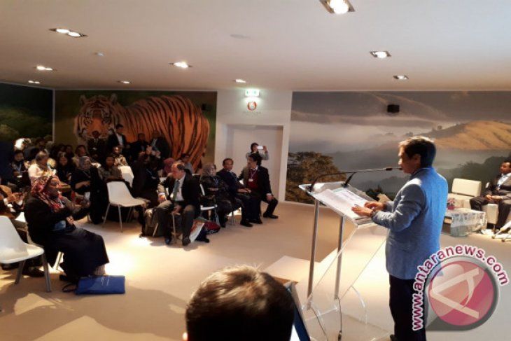 Bupati Gorontalo Paparkan Perubahan Iklim Di Jerman