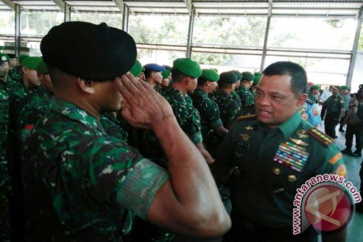 Panglima Beri Pengarahan Kepada Prajurit TNIPolri
