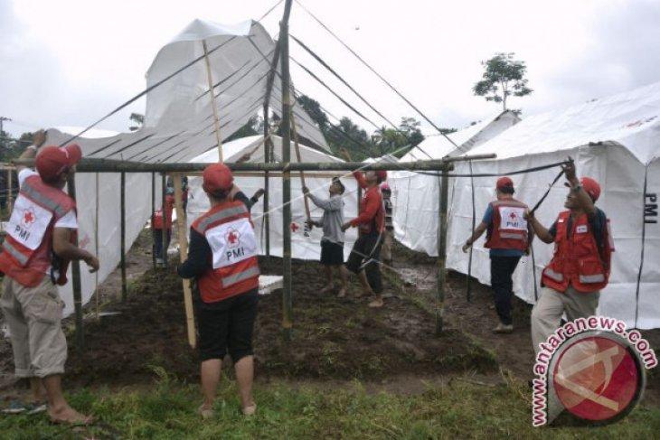 PMI Intensifkan PTT bantu pengungsi Gunung Agung