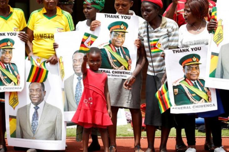 Presiden baru Zimbabwe ampuni 3.000 narapidana