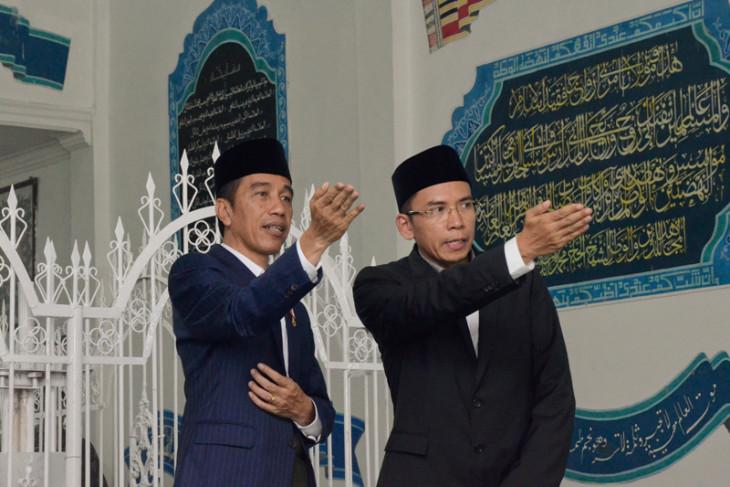 Presiden Jokowi mengaku banyak nama calon pengganti Panglima TNI