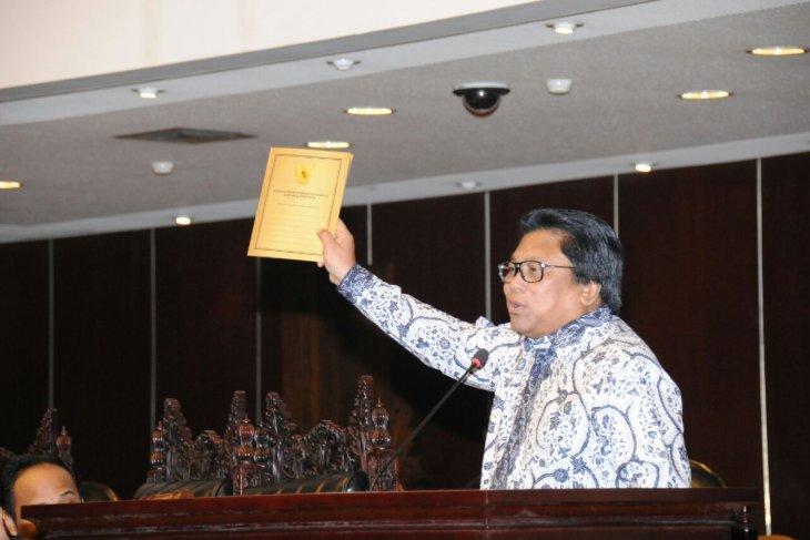 Oesman Sapta apresiasi realisasi kebhinekaan pada Sosialisasi Empat Pilar MPR dan PPWI
