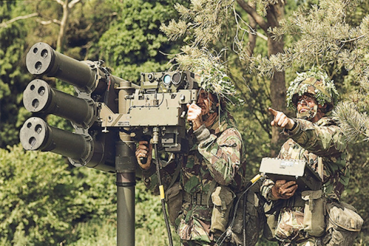 Detasemen Peluru Kendali TNI AD 004/Dumai terima 13 peluru kendali STARStreak