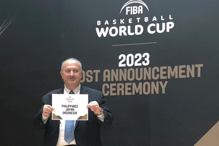 Resmi, Indonesia tuan rumah Piala Dunia FIBA 2023
