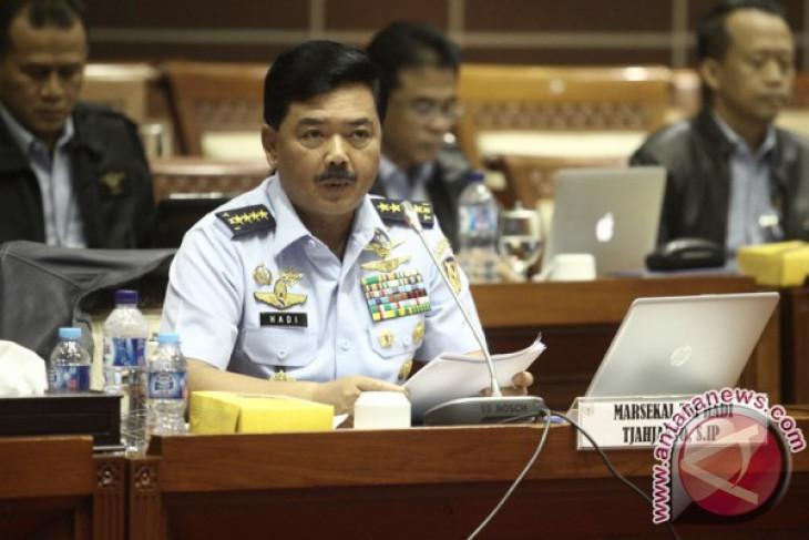 Hadi Tjahjanto paparkan lima ancaman pertahanan nasional ke DPR