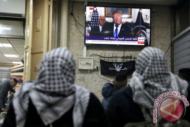NU: Trump kacaukan perdamaian lewat isu Jerusalem
