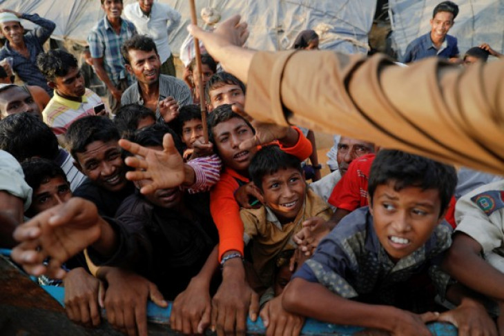 Reuters diganjar Pulitzer berkat foto Rohingya