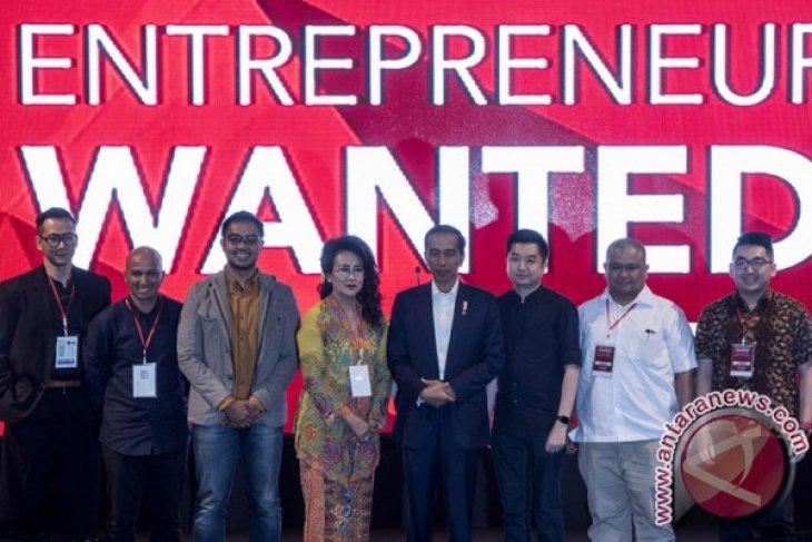 Sebut potensi 130 miliar dolar, Jokowi ajak anak muda geluti ekonomi digital