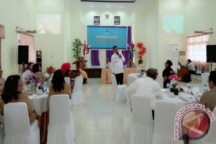 BNNP Maluku Bahas Monitoring dan Evaluasi P4GN
