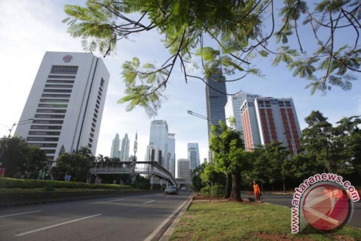 Hari pertama 2018 lalu lintas Jakarta lancar