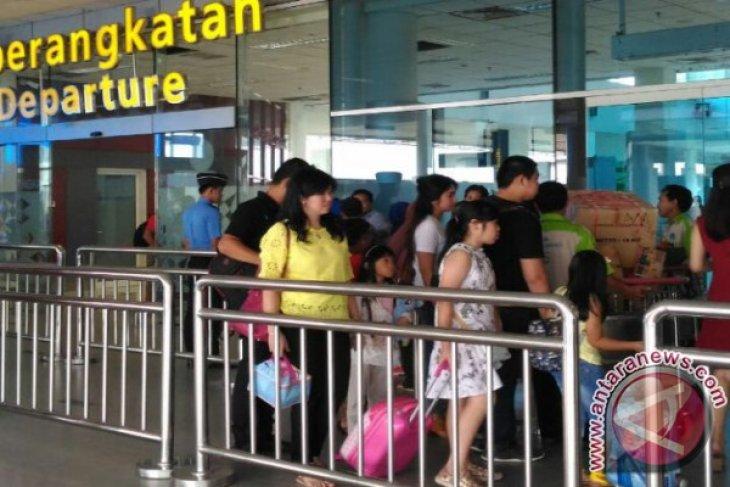 Jumlah penumpang Bandara Pangkalpinang meningkat 6,99 persen
