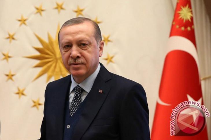 Erdogan: Turki akan hajar milisi Kurdi di Afrin