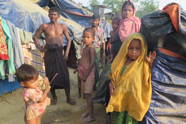 Sekitar 60 bayi lahir per hari di kampung Rohingya Bangladesh