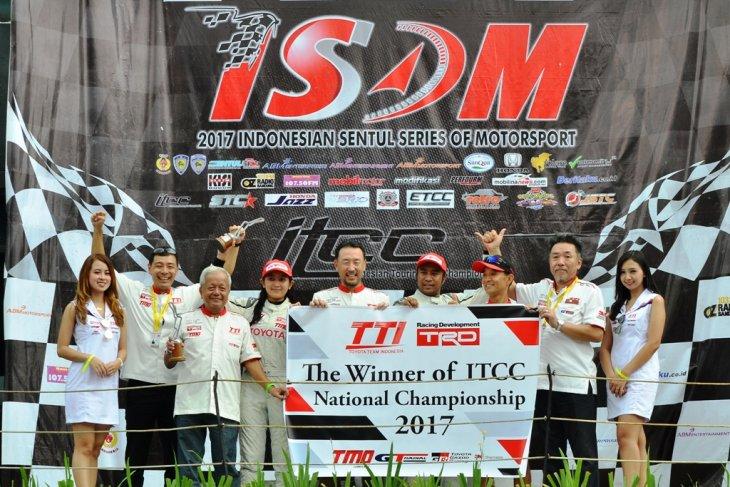 Dua pebalap Toyota Indonesia terjun di Fuji Speedway