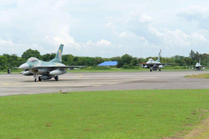 Kedatangan Pesawat F-16