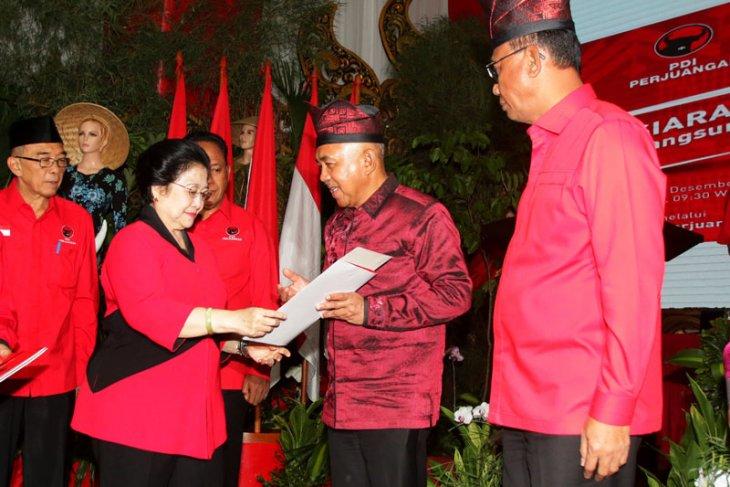 PDIP Umumkan Cagub Empat Daerah