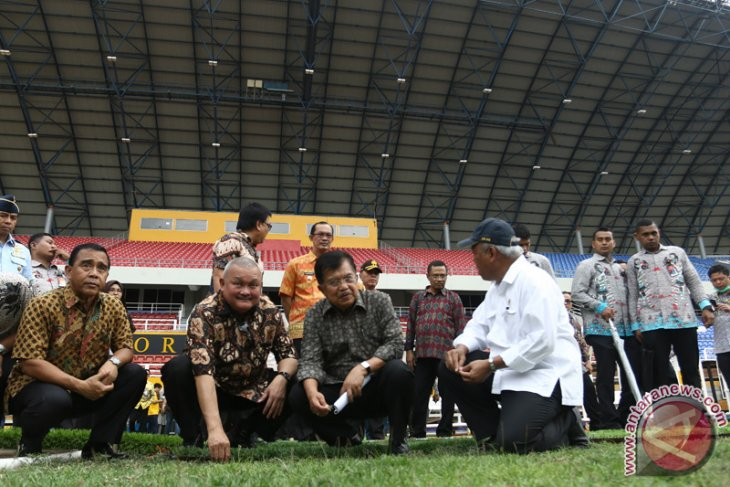 Wapres Tinjau Arena Asian Games