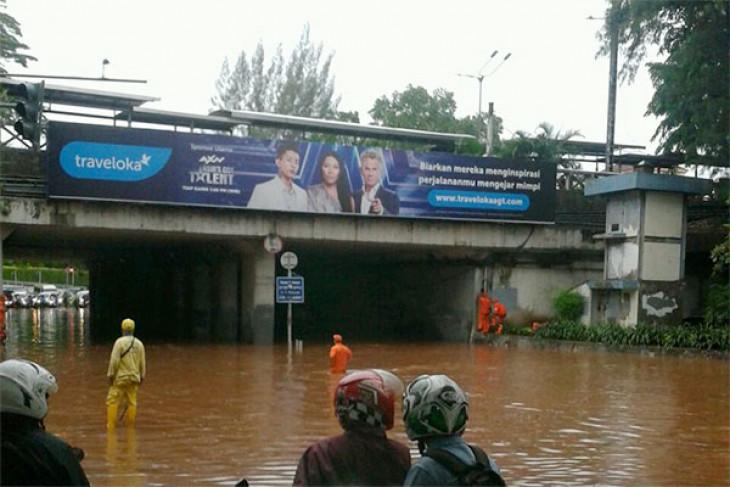 Hujan lebat, sebagian Jakarta banjir