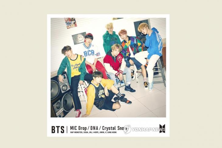 BTS puncaki tangga lagu Jepang