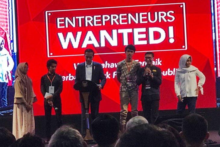 """Jokowi investasi di lima """"start up"""", salah satunya jual perlengkapan jenazah"""