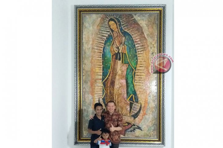 Seniman muslim Kebumen rancang kolase Bunda Maria