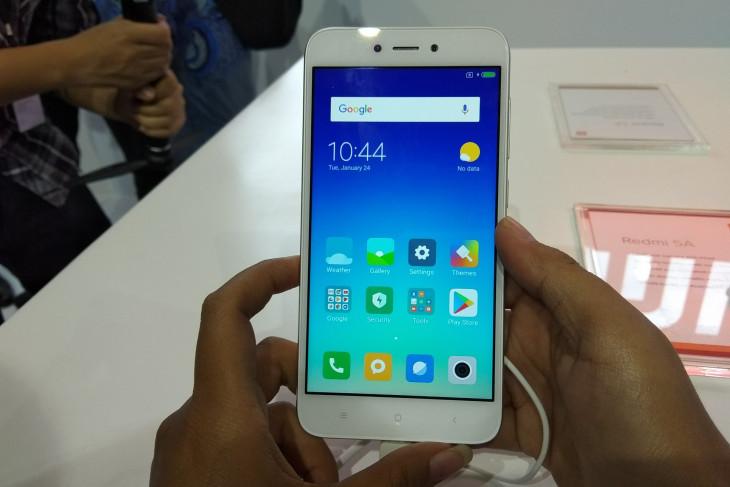 Xiaomi sudah jual sejuta lebih Redmi 5A di India