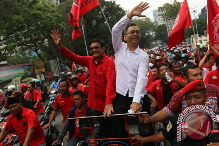 Relawan Jokowi dukung Djarot-Sihar di Pilkada Sumut