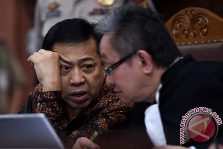 """KPK masih pertimbangkan soal """"justice collaborator"""" Novanto"""