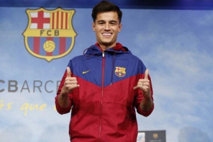 Barcelona masih utang uang pembelian Coutinho dari Liverpool